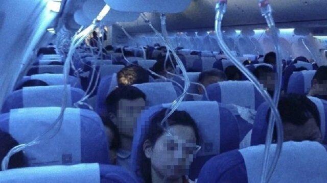 Çin Hava Yollarına ait bir uçuş sırasında pilotlardan biri elektronik sigara içince, oksijen seviyesi düştü ve uçak acil iniş düzenine geçti.