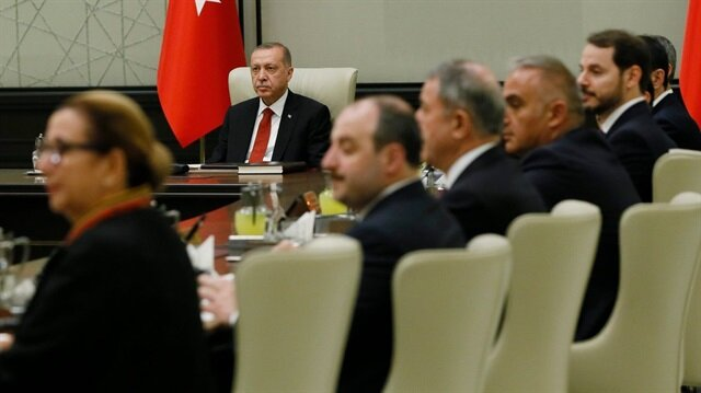 İlk Cumhurbaşkanlığı Kabine Toplantısı