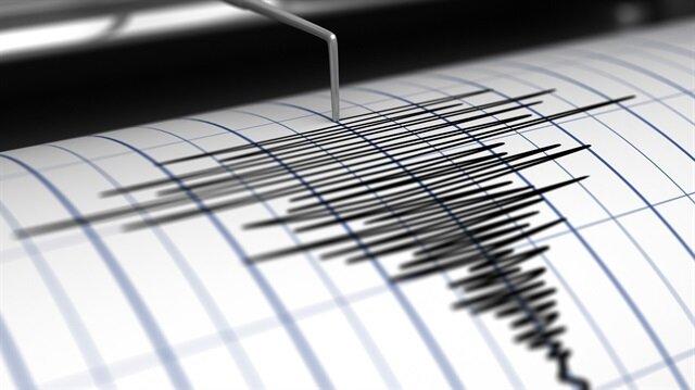 Ege'de 4,5 büyüklüğünde deprem