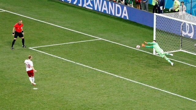 'Gol' garantili penaltı!