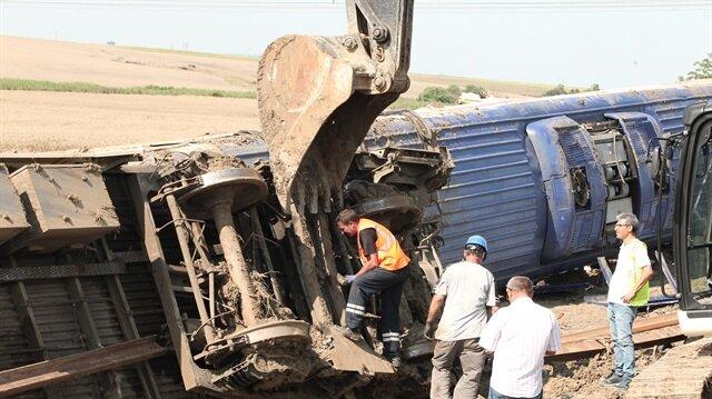 Tekirdağ'daki tren kazasında 24 kişi hayatını kaybetmişti.