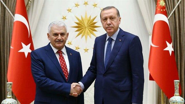 Cumhurbaşkanı Recep Tayyip Erdoğan - Binali Yıldırım