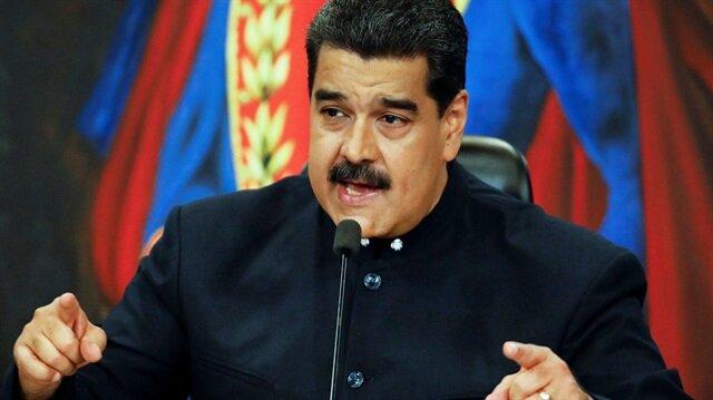 Maduro uyardı: ABD sınırda provokasyona hazırlanıyor