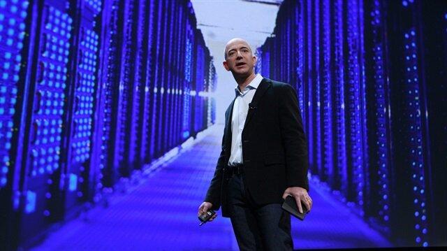 Amazon'un kurucusu ve Üst Yöneticisi (CEO) Jeff Bezos