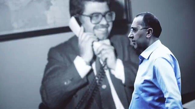 Özal'ı son gören FETÖ'cü doktor ABD'de görüntülendi