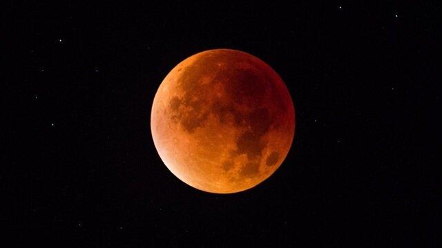 Kanlı ay tutulmasına hazır olun