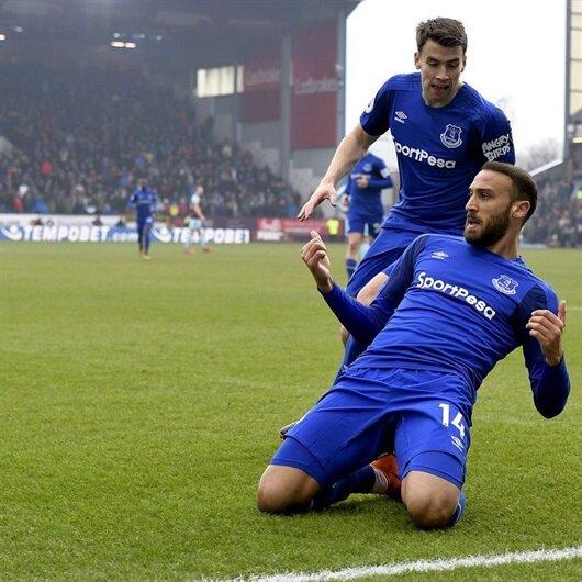 Cenk Tosunlu Everton hazırlık maçında 22 gol attı