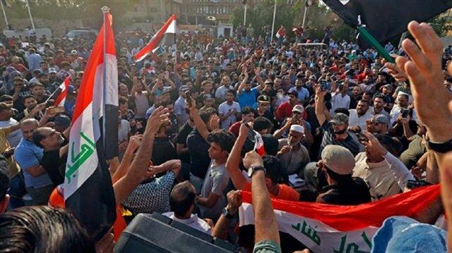 Irak'ın güneyindeki Meysan kentinde göstericiler, Dava Partisi'nin yanı sıra Ammar el-Hekim'in Ulusal Hikmet Akımı (parti) ve İran destekli Bedir Örgütü ile Yüksek İslami Konseyi (Şii) Partisi'nin binalarını basarak, ateşe verdi.