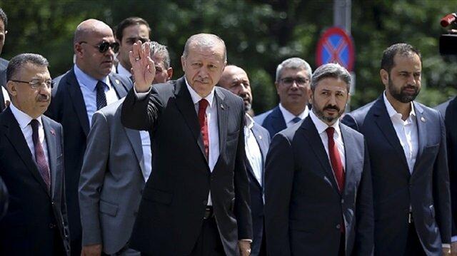 أردوغان يشارك غدا الأحد في مسيرة على