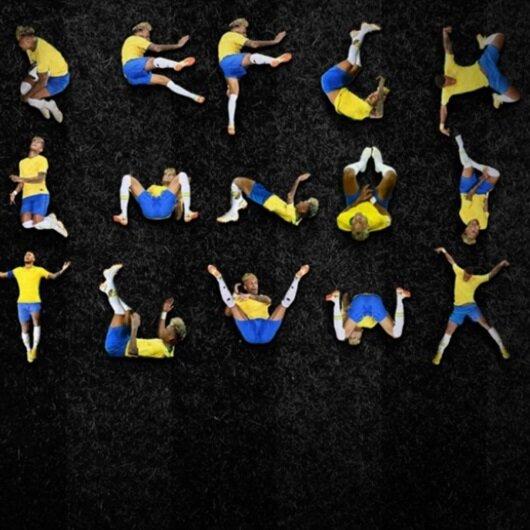 Neymar'ın alfabesini yaptılar