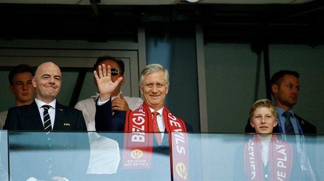 المنتخب البلجيكي يحضى باستقبال الأبطال