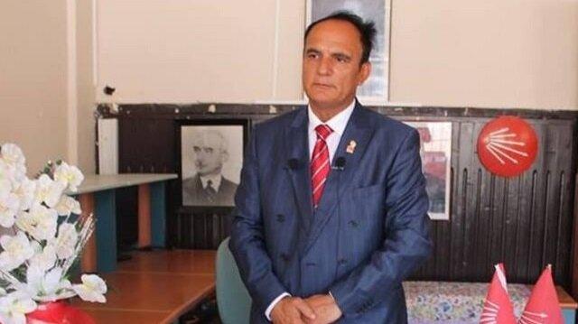 Görevinden istifa eden, CHP Eskipazar İlçe Başkanı Hüseyin Şahin