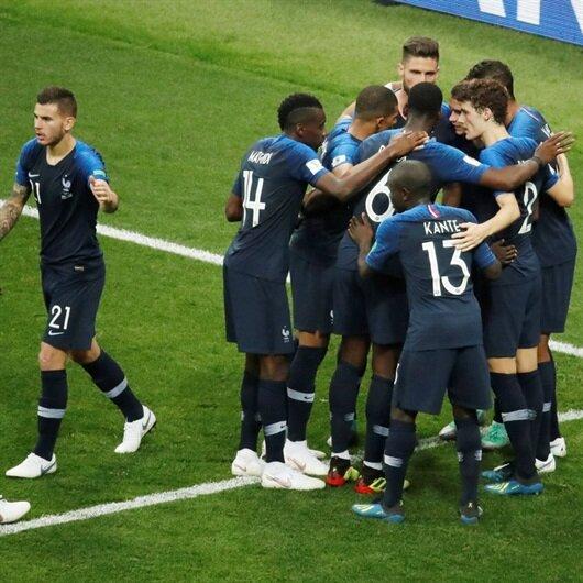 Fransa-Hırvatistan:4-2