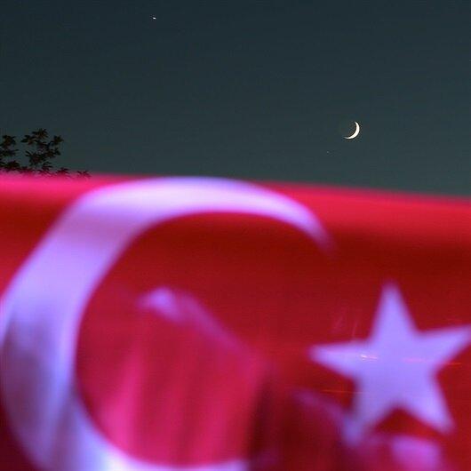 Sema 'ay-yıldız'