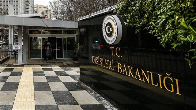 الخارجية التركية تدين بشدة هجوم