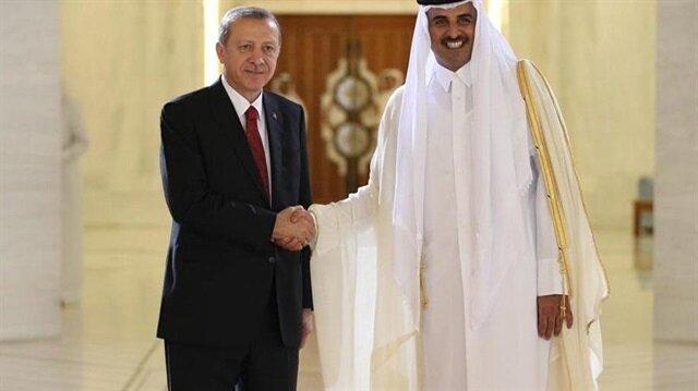 أمير قطر يهنئ أردوغان بـ