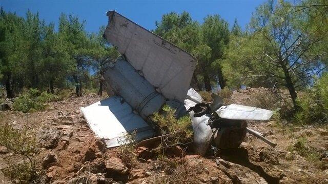 Gaziantep'te 'roket parçası' olduğu düşünülen enkaz bulundu.