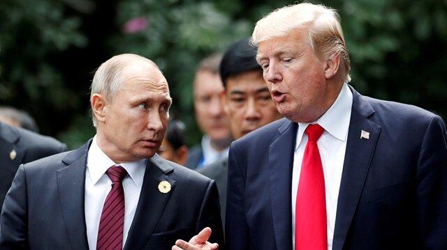 Arşiv: Rusya Devlet Başkanı Vladimir Putin, ABD Başkanı Donald Trump