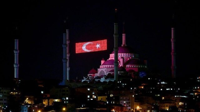 Mosques across Turkey say prayers in memory of July 15