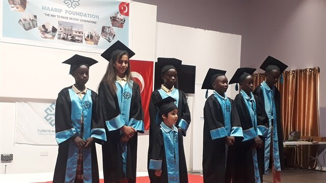 Turkish school in Gambia holds first graduation