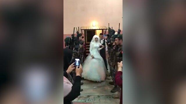 Böyle olur Özel Harekatçının düğünü