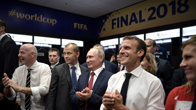Macron can bless his lucky stars, again, as 'Les Bleus' win World Cup
