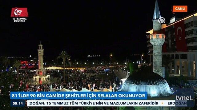 Tüm Türkiye'de selalar okundu