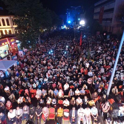 15 Temmuz ikinci yıl dönümünde Çankırı'da anıldı