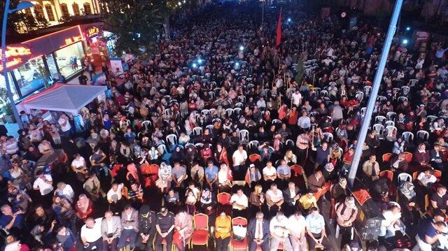 Çankırı'da 15 Temmuz törenlerle anıldı