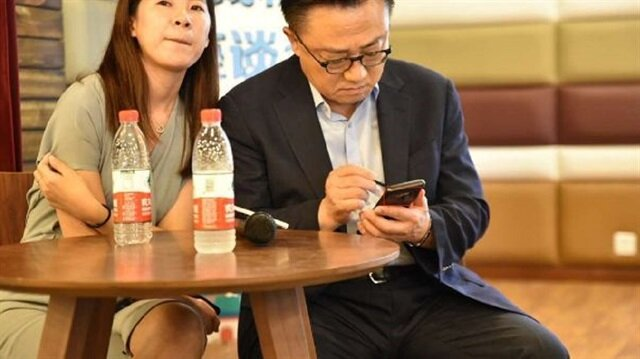 Samsung CEO'su Galaxy Note 9 kullanırken yakalandı