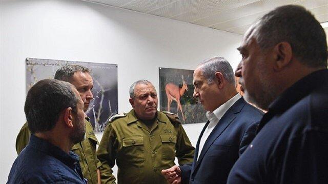 ليبرمان ونتنياهو: مستعدون لأي سيناريو مع غزة