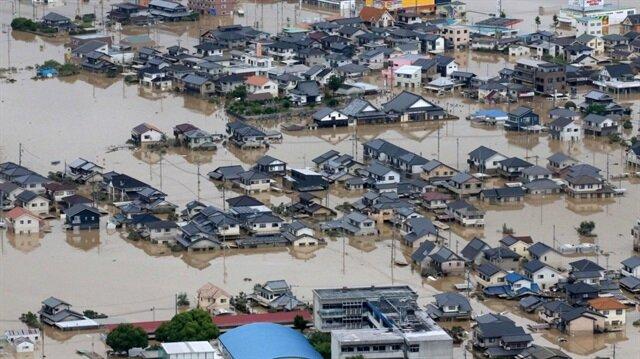 Japonya sel felaketinde 222 kayıp verdi
