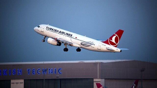 İstanbul semalarında dikkat çeken uçuş