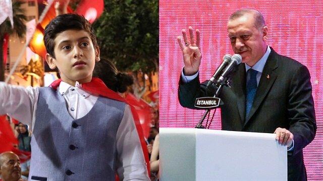 Erdoğan'ın yürek titreten şiiri