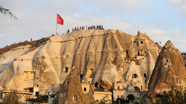 السياحة في كابادوكيا التركية تسجل أفضل أرقامها منذ ثلاثة أعوام