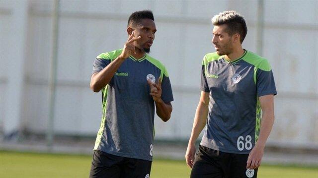 Atiker Konyasporlu Bourabia İtalya'ya transfer oldu