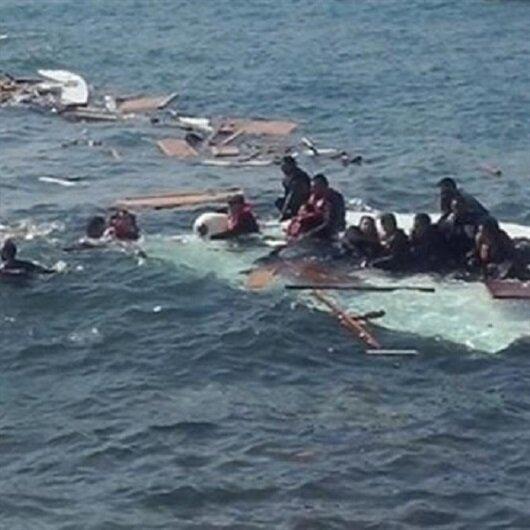 KKTC sahilinde mülteci teknesi battı