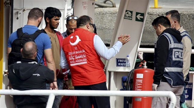 Over 330 undocumented migrants held across Turkey