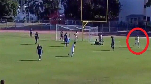 Giuliano'dan hazırlık maçında müthiş gol