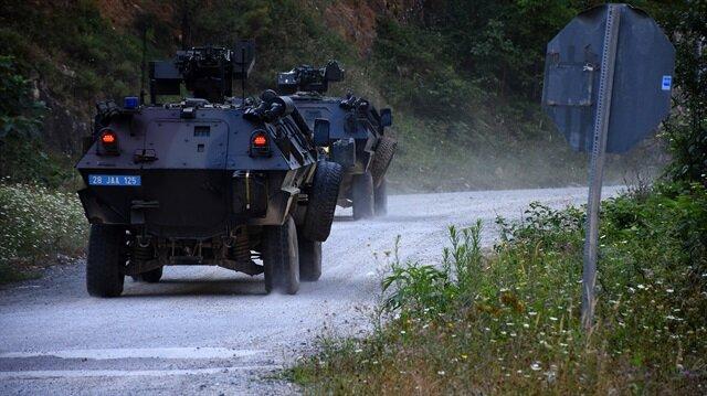 Mehmetçik, Gümüşhane'de teröristleri etkisiz hale getirmek için operasyonlarını sürdürüyor.