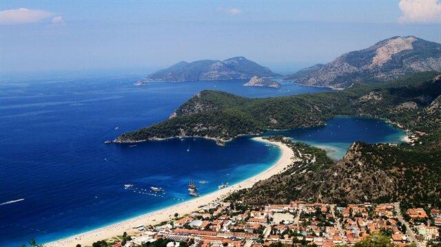 ارتفاع نسبة السياح الوافدين إلى موغلا التركية 38 بالمئة