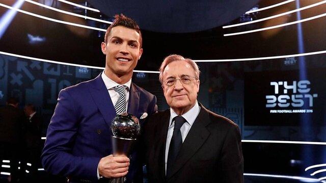 بيريز يتعهد لجمهور ريال مدريد: سأنسيكم رونالدو