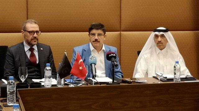 أقطاي يدعو رجال الأعمال للتوسع في المشاريع بين تركيا وقطر