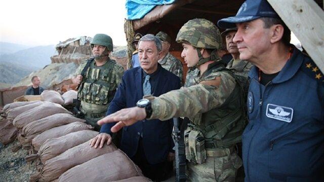 وزير الدفاع التركي يعلن تطهير الحدود من الإرهابيين ويتوعد بملاحقتهم