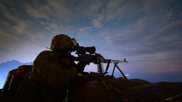 Turkish army neutralizes 43 terrorists over past week