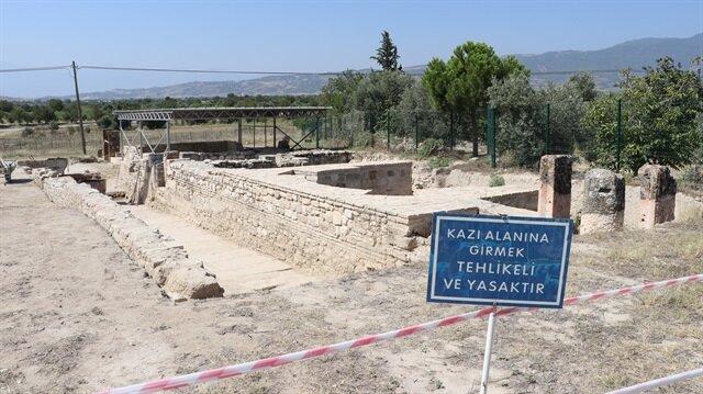 تركيا تعثر على قصر مصغّر يعود لألفي عام