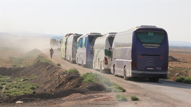 Syrian opposition begins evacuating Golan frontier