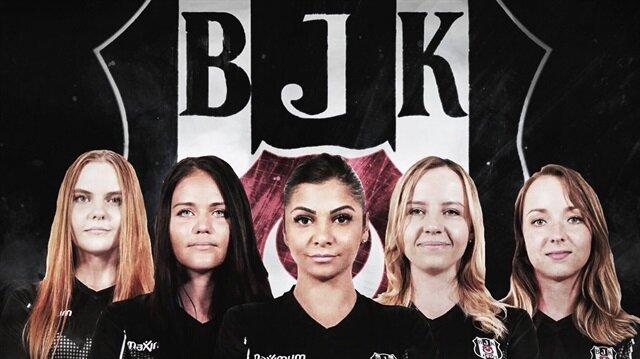 Beşiktaş JK, dünyada kadın CS:GO sahnesine adım atan ilk spor kulübü oldu.