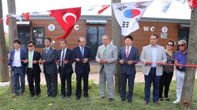 CHP'li Belediye Başkanı Vefa Salman'ın açılışını yaptığı 193 bin liralık tuvalet vatandaşların kullanımına sunuldu.