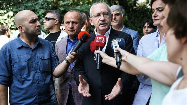 Kurultay sorusu Kılıçdaroğlu'nu sinirlendirdi